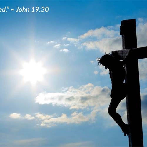 Good Friday – April 2, 2021